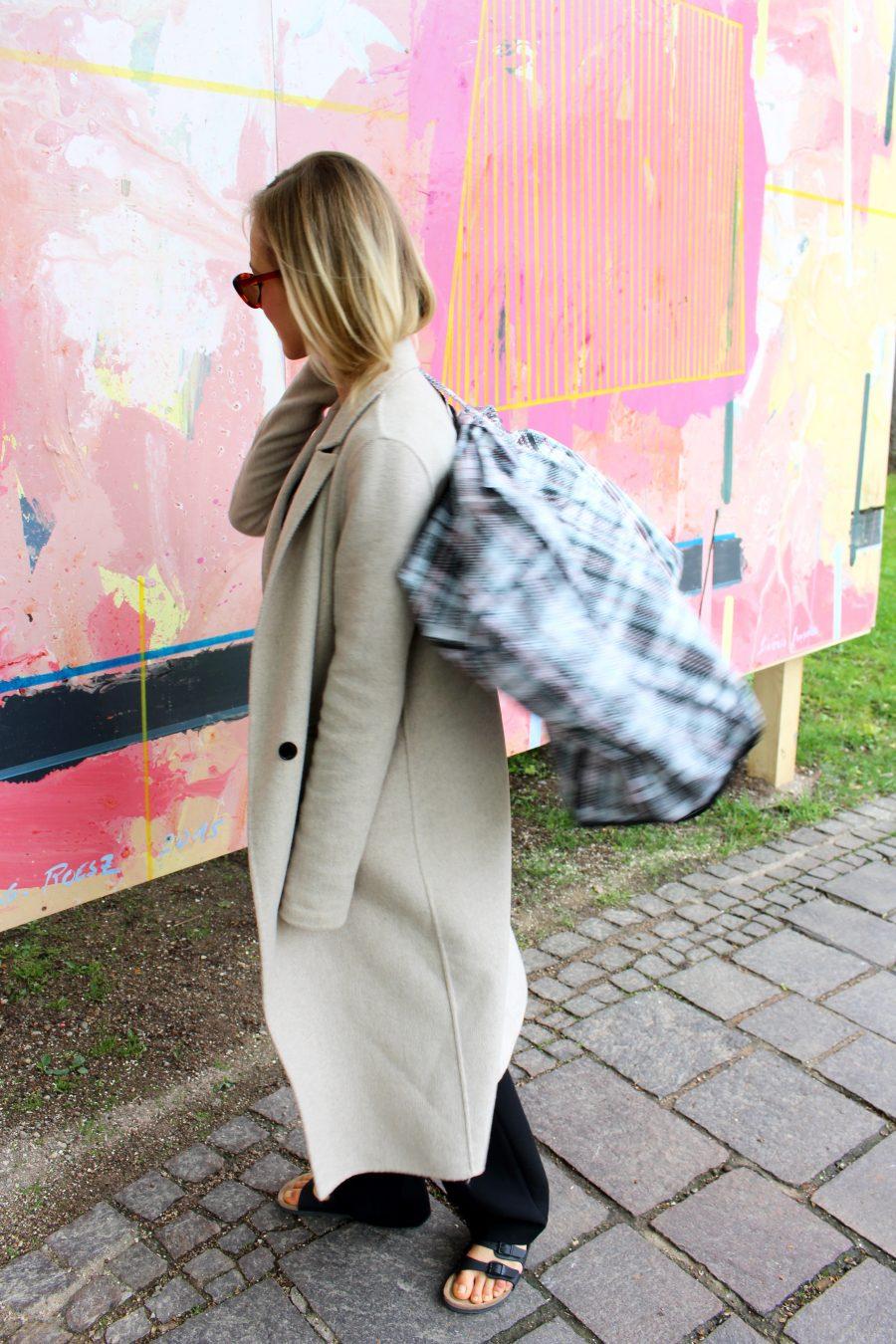 beige coat zara handmade