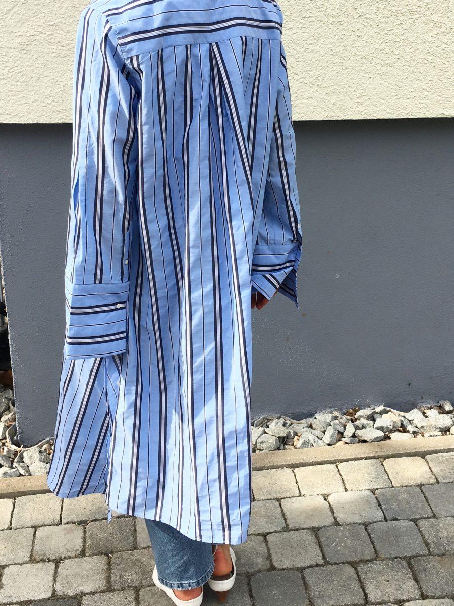 bluse gestreift lang H&M