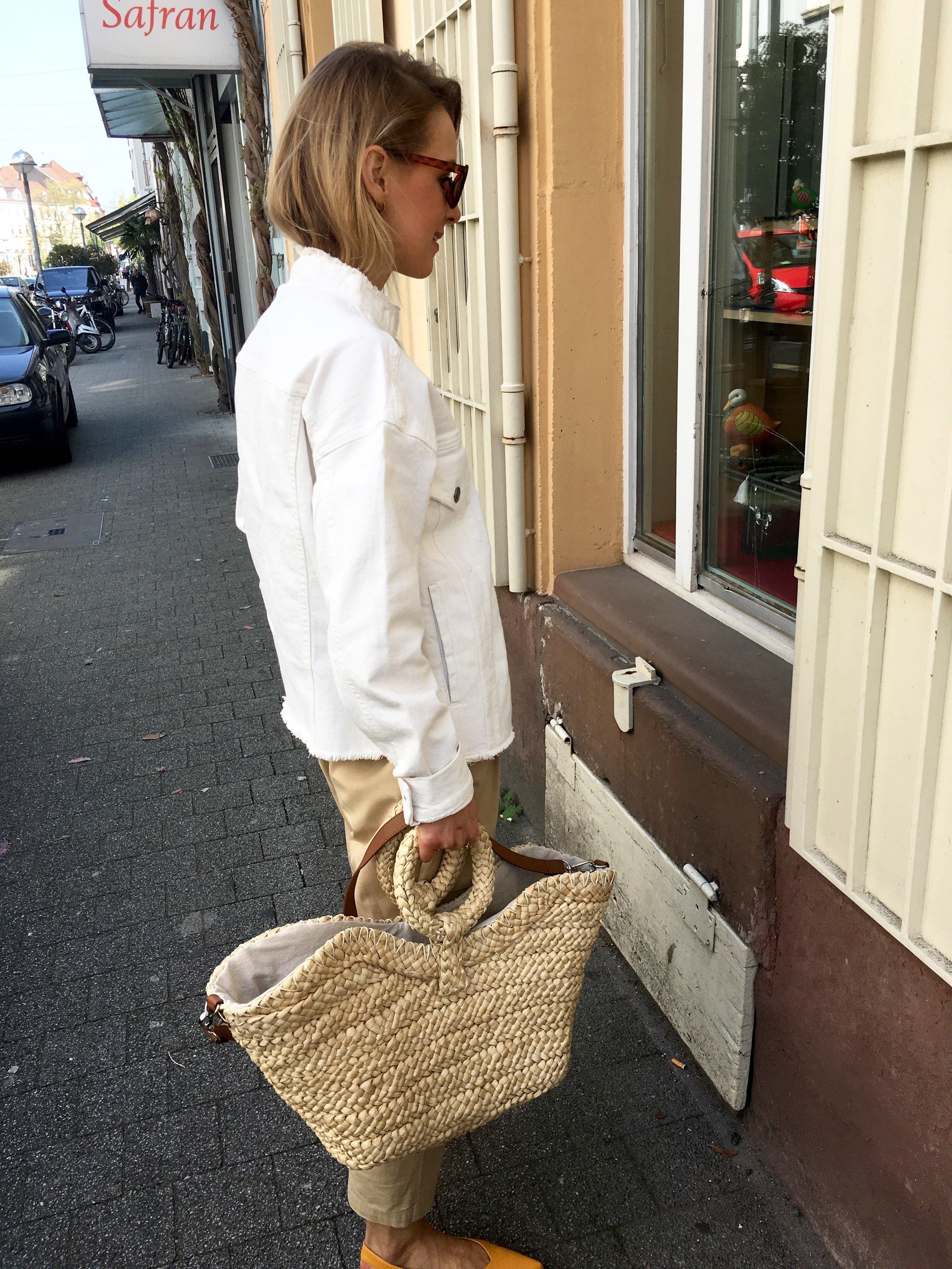 basket bag Mango summer 2017