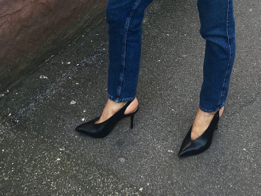 aldo shops black heels