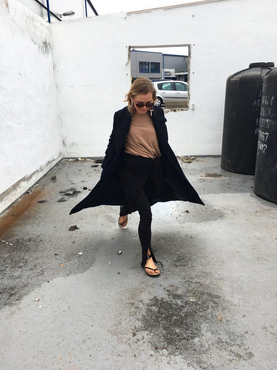 zara studio sandalen Céline schwarz