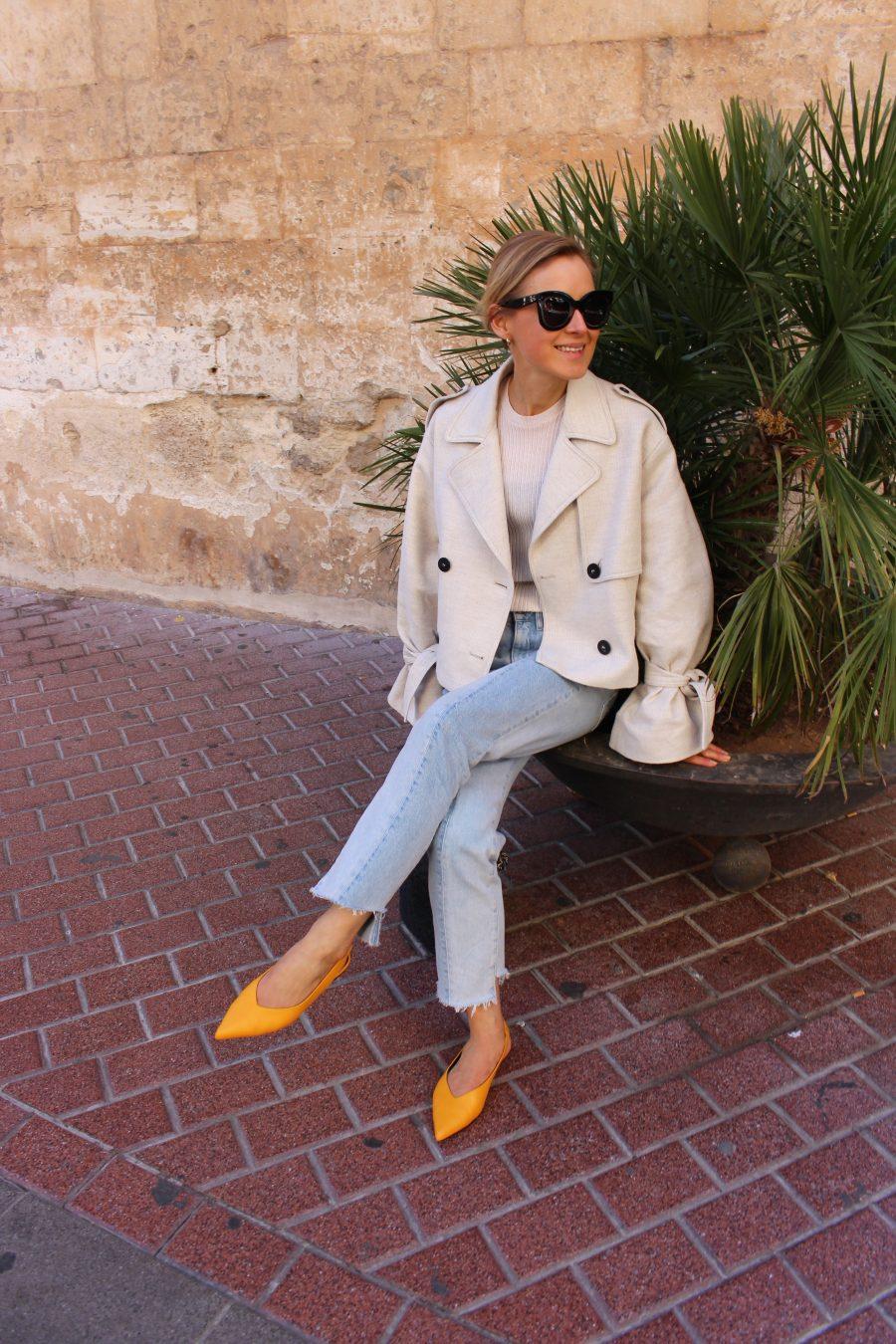 mango trenchcoat beige