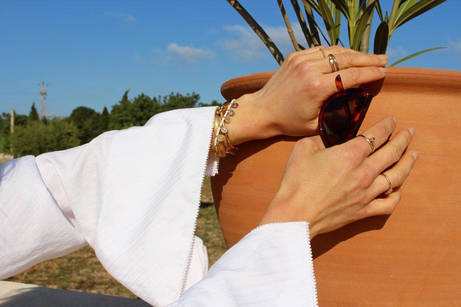 Céline knote bracelete