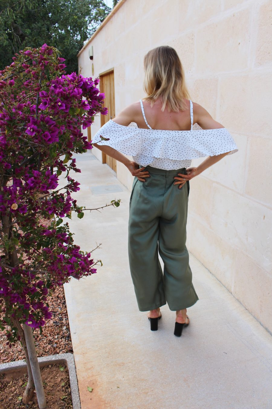 The Silk trousers H&M