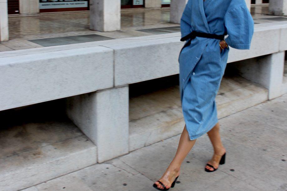 The Kimono-Denim Dress |07.06.2017