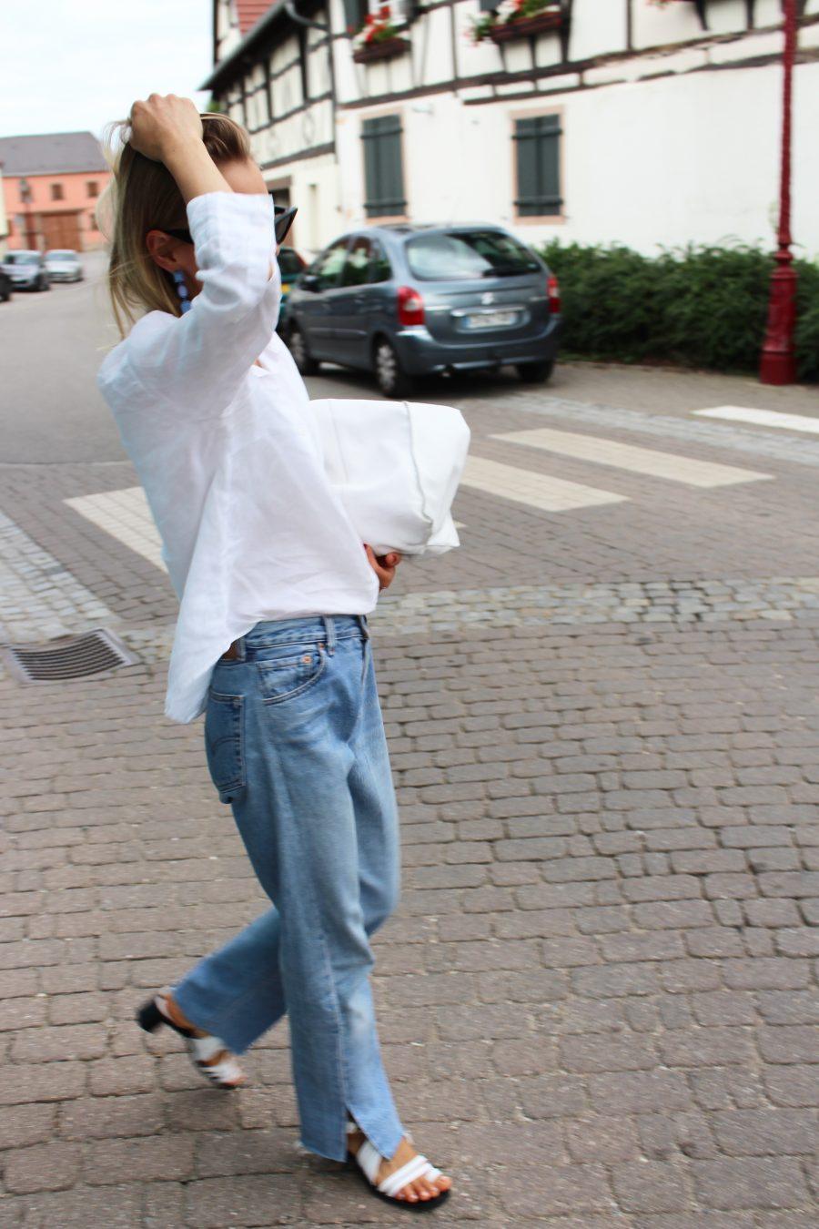 levis vintage jeans 501 blogger look