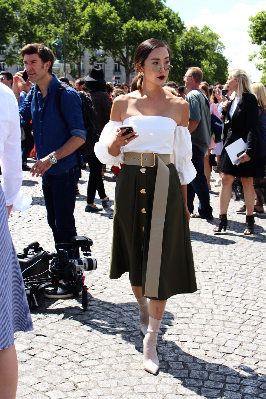 Street Style Haute Couture Paris Day 2 Dior