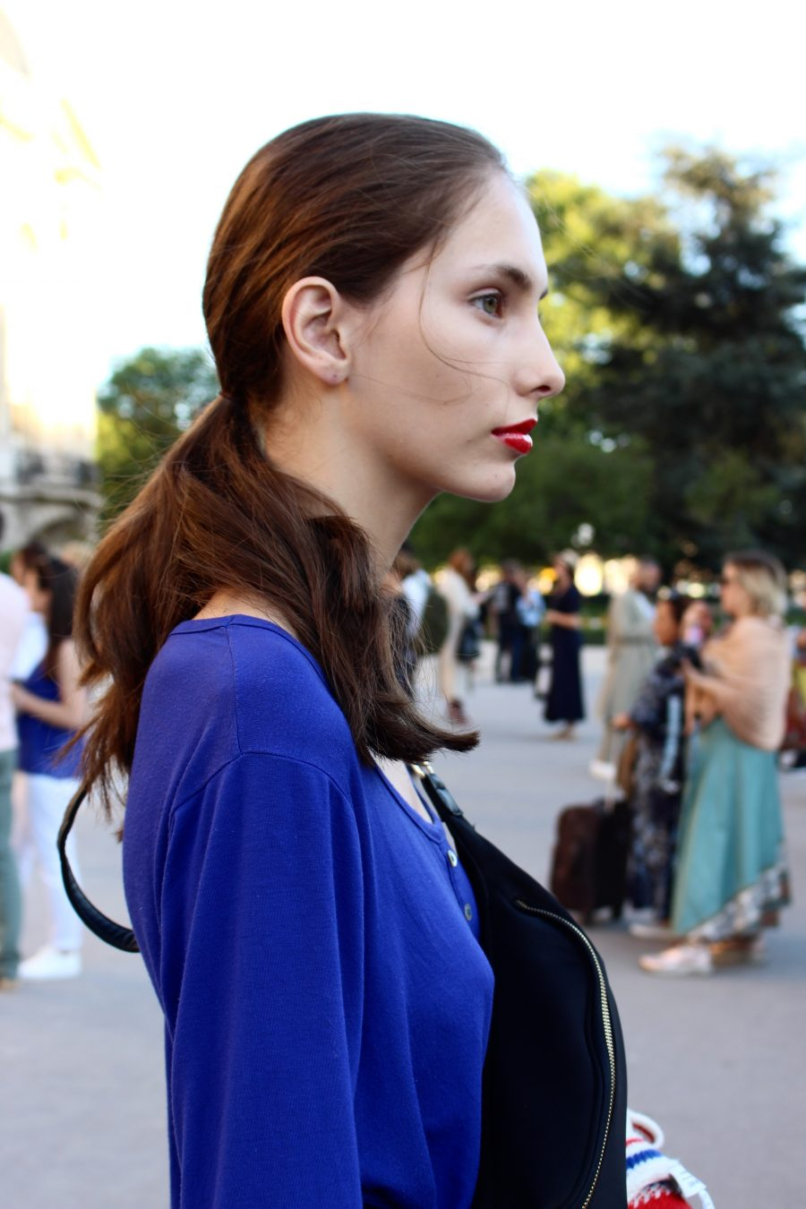 Street Style Haute Couture Paris Day 2 Giambattista valli models after show