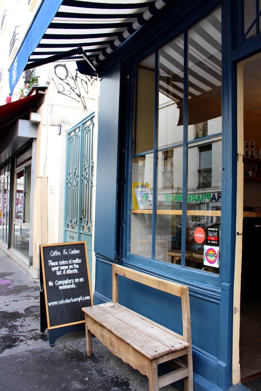 CAFÉ OBERKAMPF Brunch in Paris
