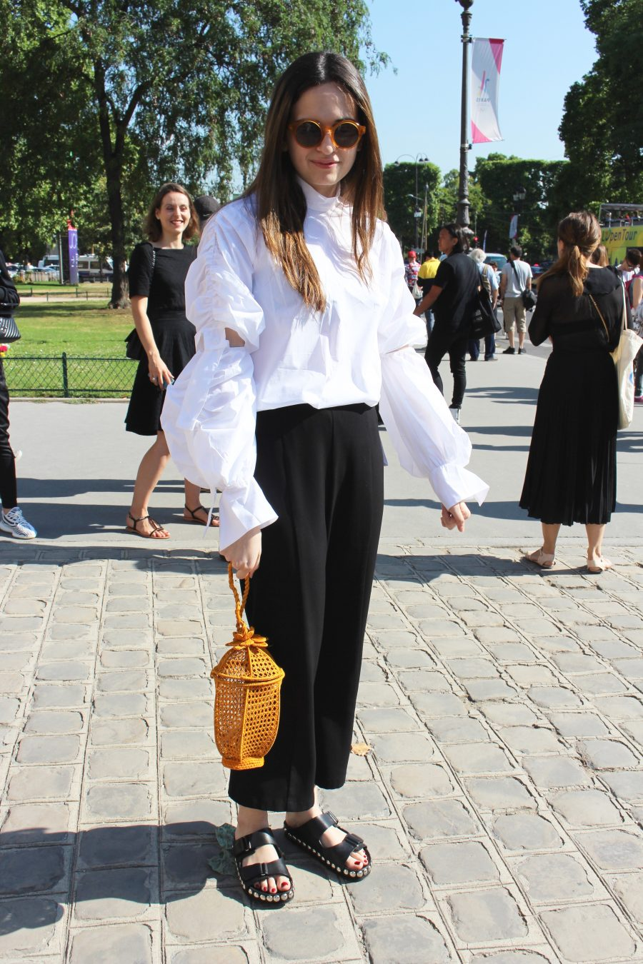 Street Style Haute Couture Paris Day 3 chanel