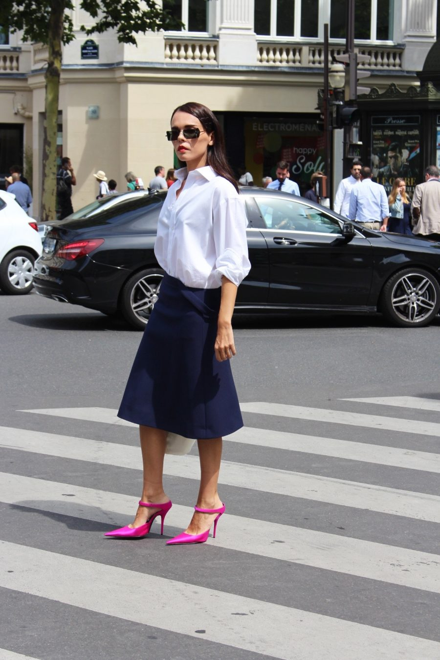 Street Style Haute Couture Paris Day 4 balenciaga look