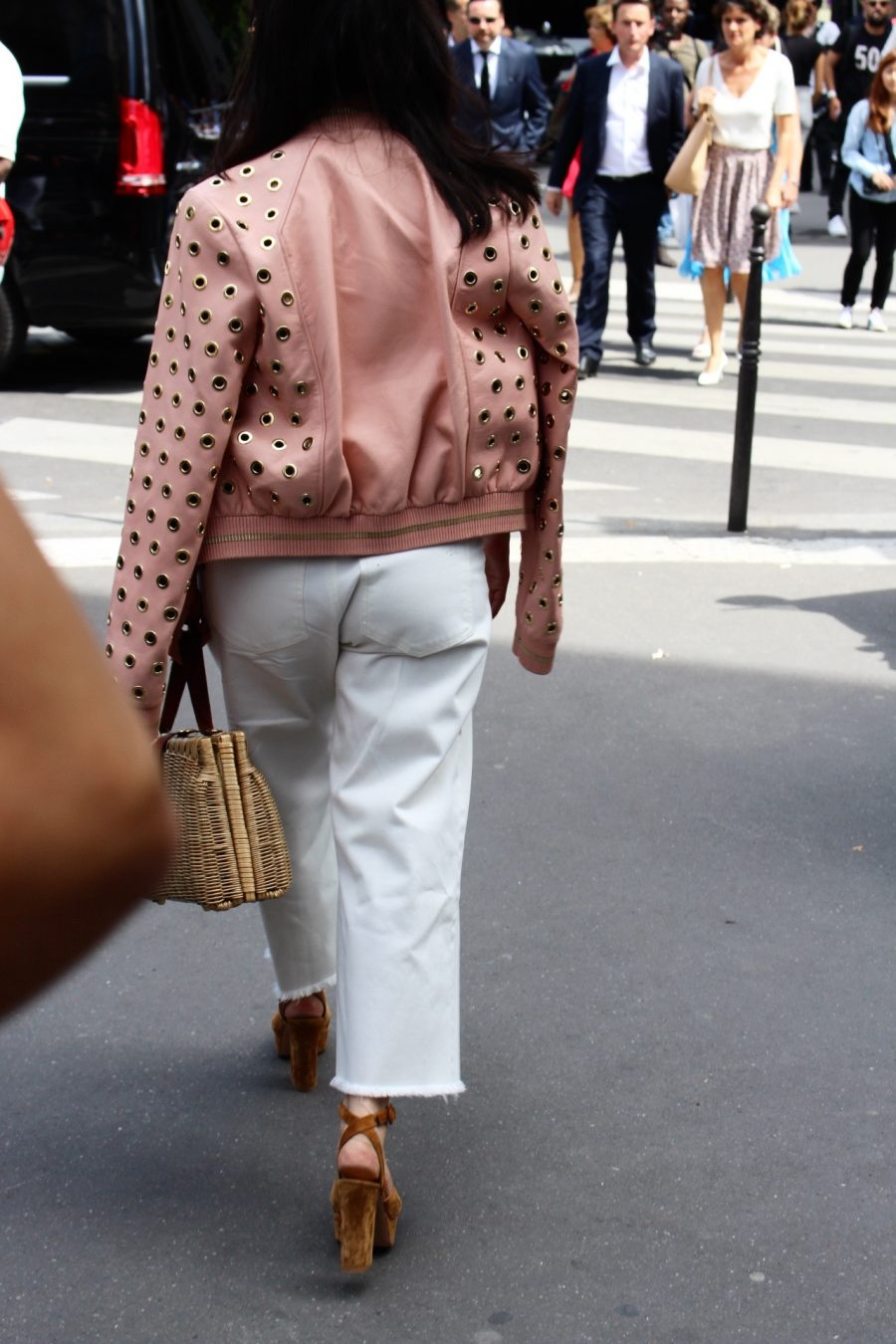 Street Style Haute Couture Paris Day 4 elie saab