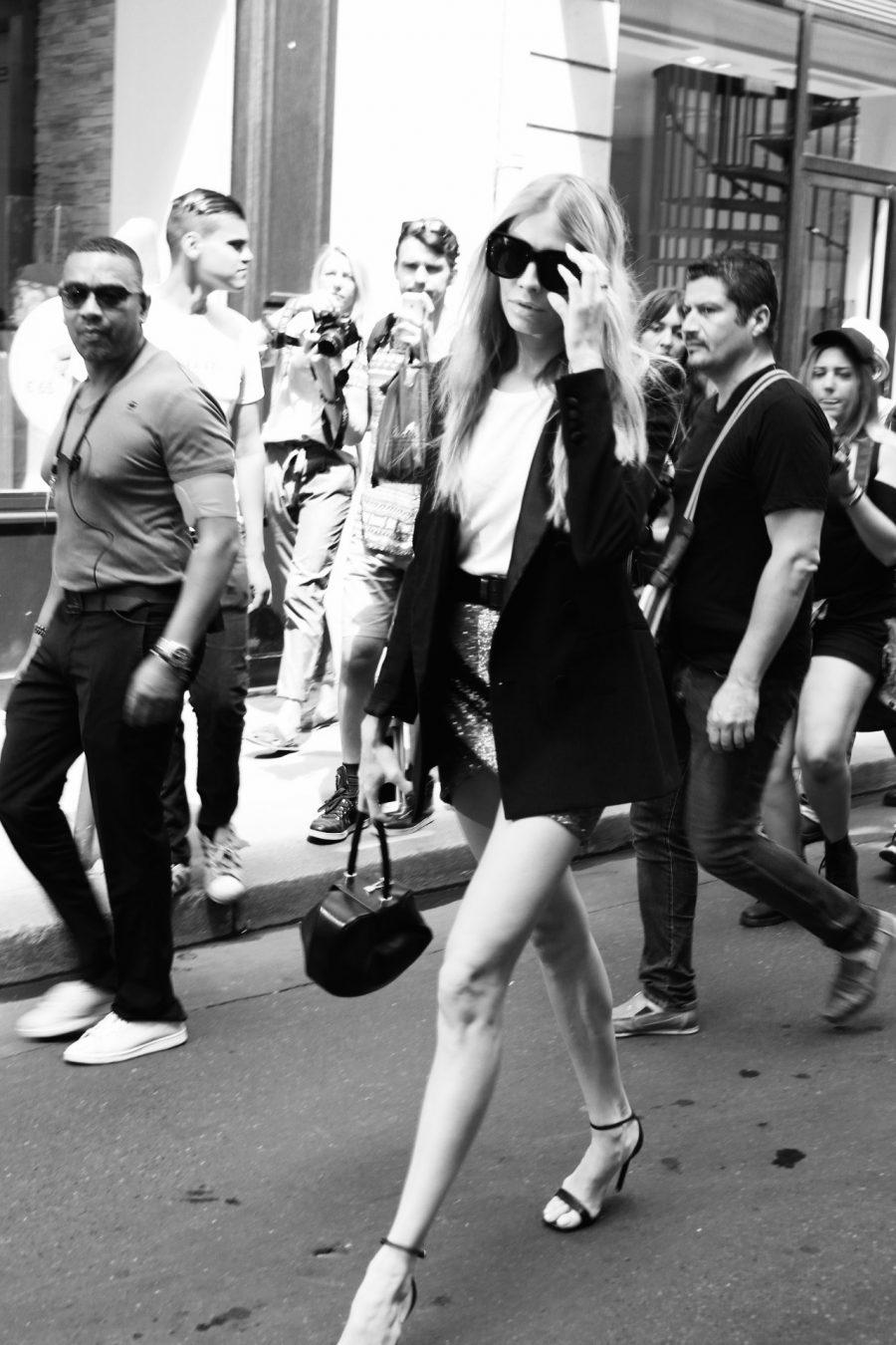Street Style Haute Couture Paris Day 4 elena perminova