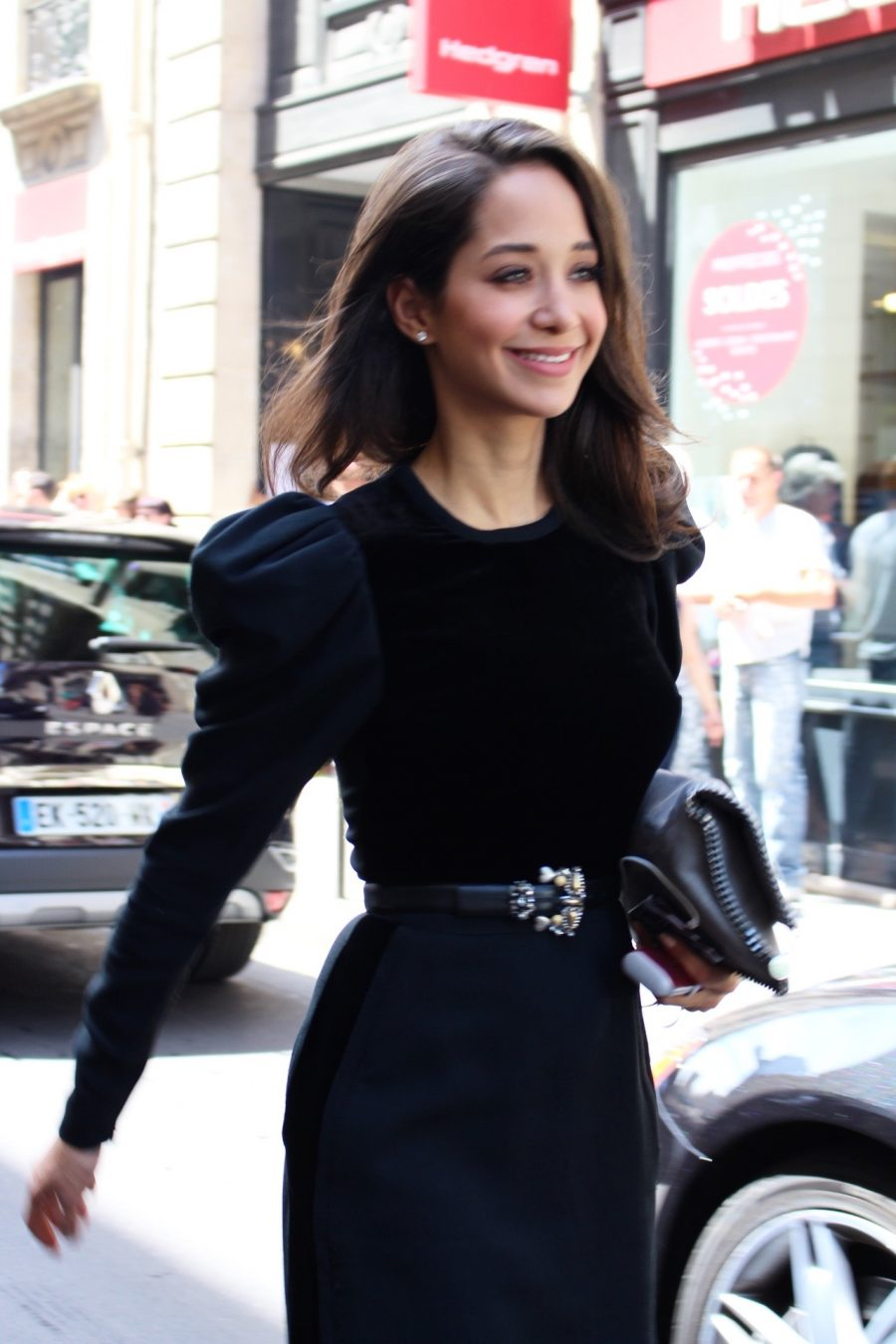 Street Style Haute Couture Paris Day 4 elie saar dress