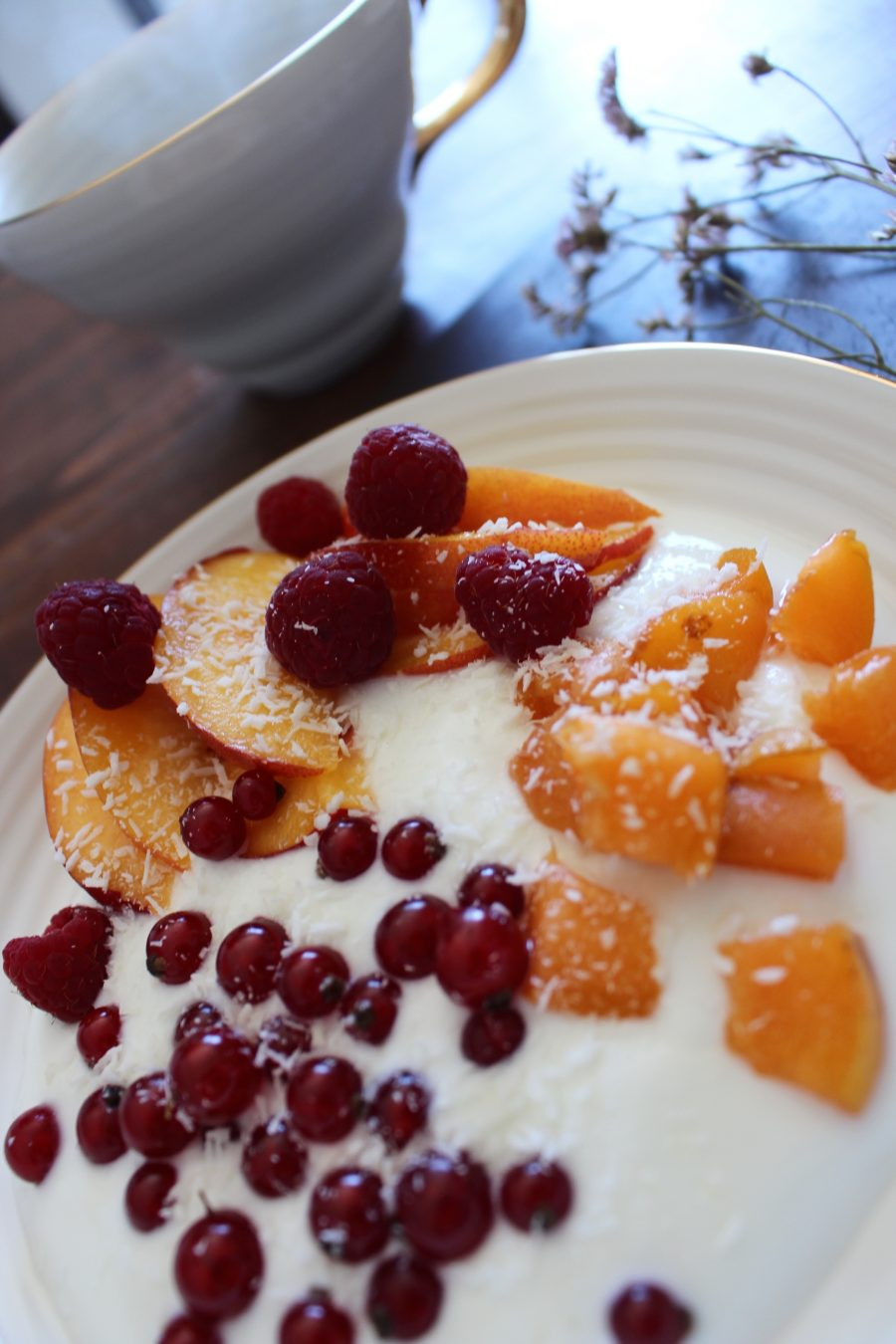 Greek Joghurt with Fruit