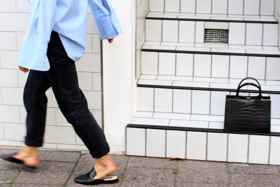 slipper mango black