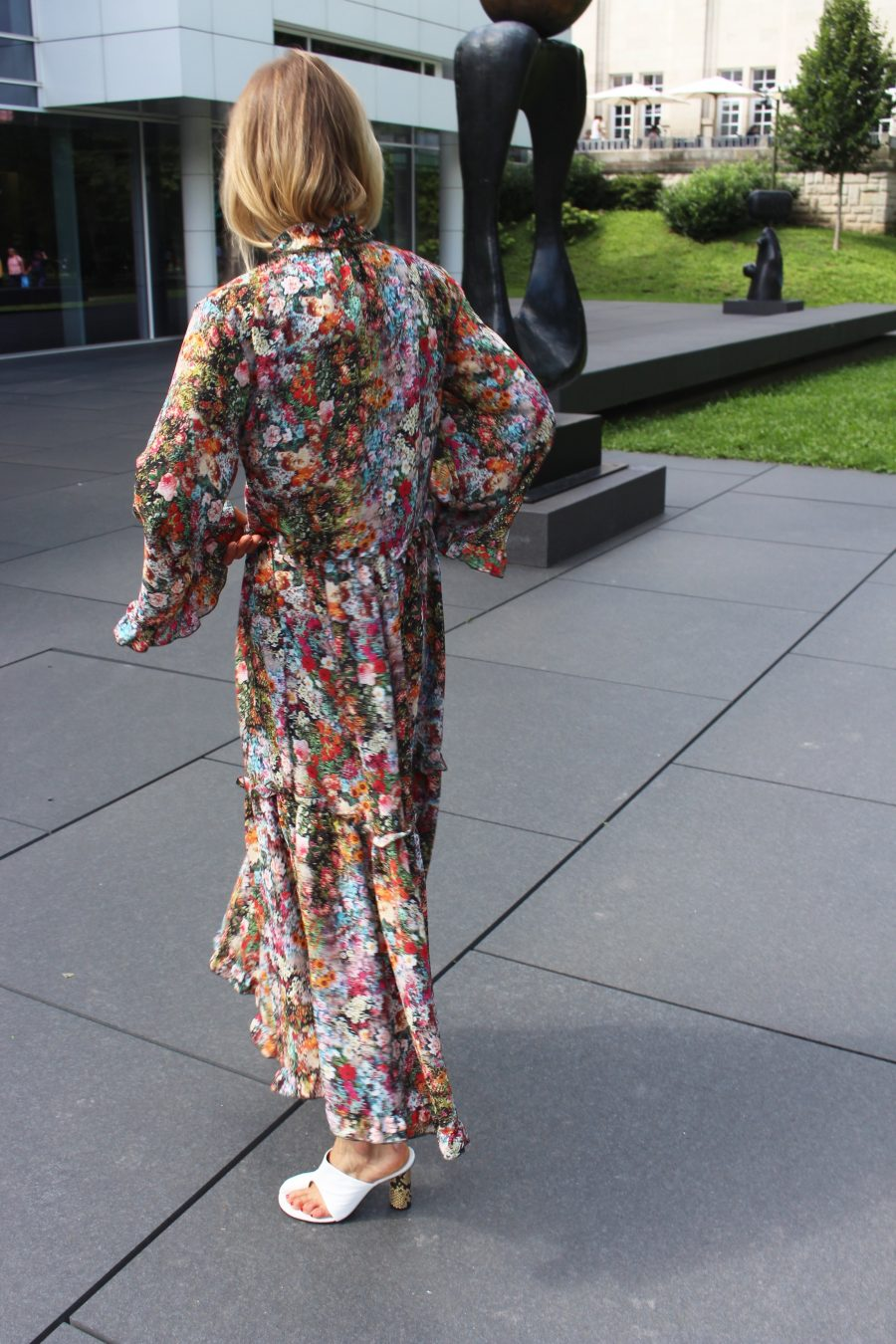 maxi dress boho H&M
