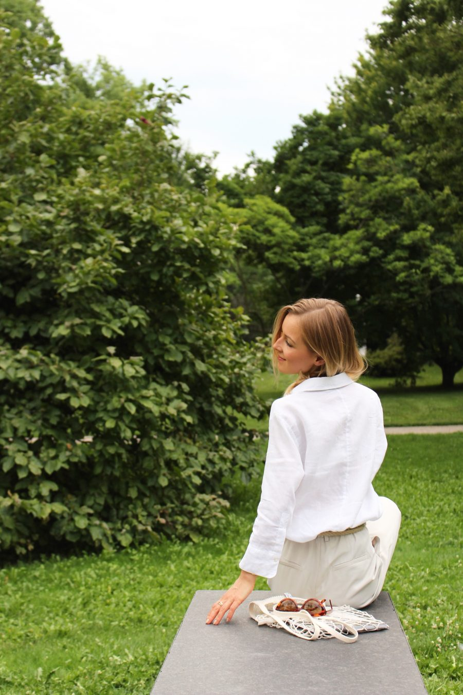 white linen shirt zara