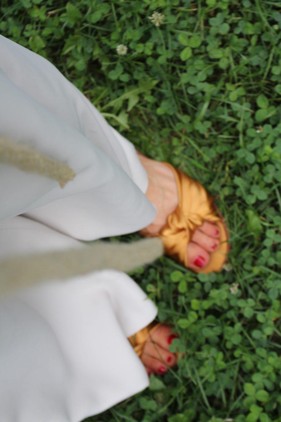 Flared Flowing Trousers zara