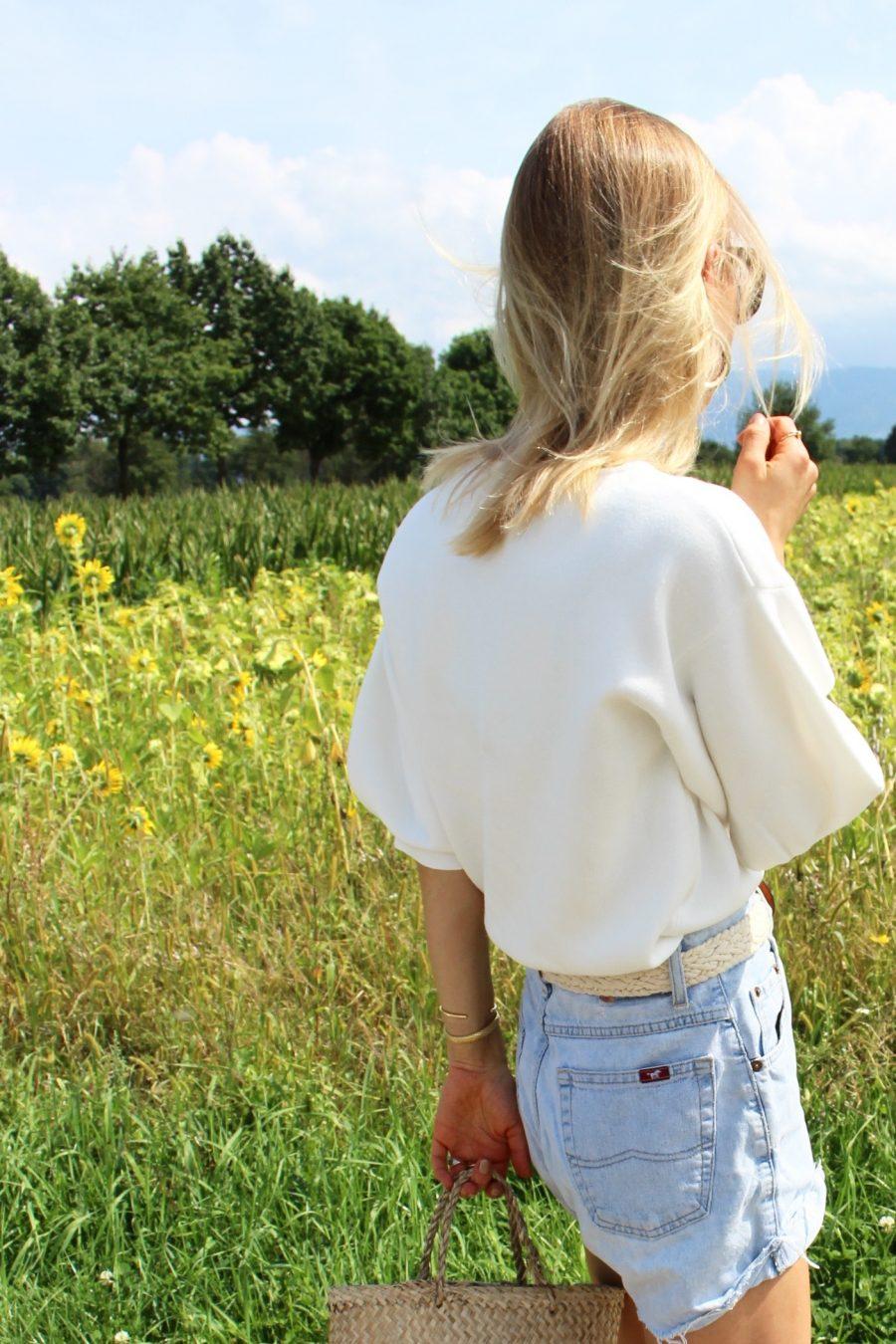 Massimo Dutti Sweater white