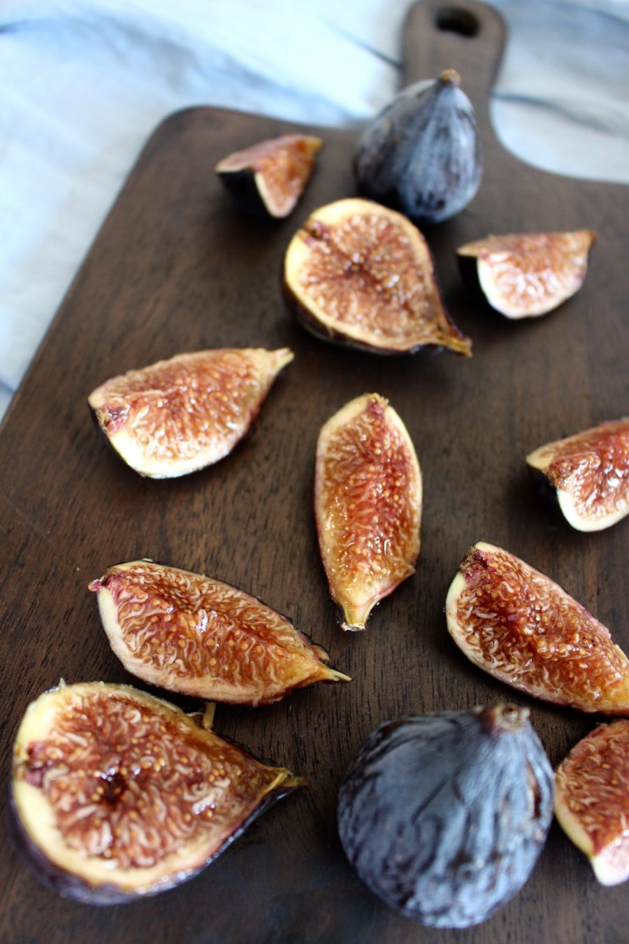 warm Porridge with caramelized figs