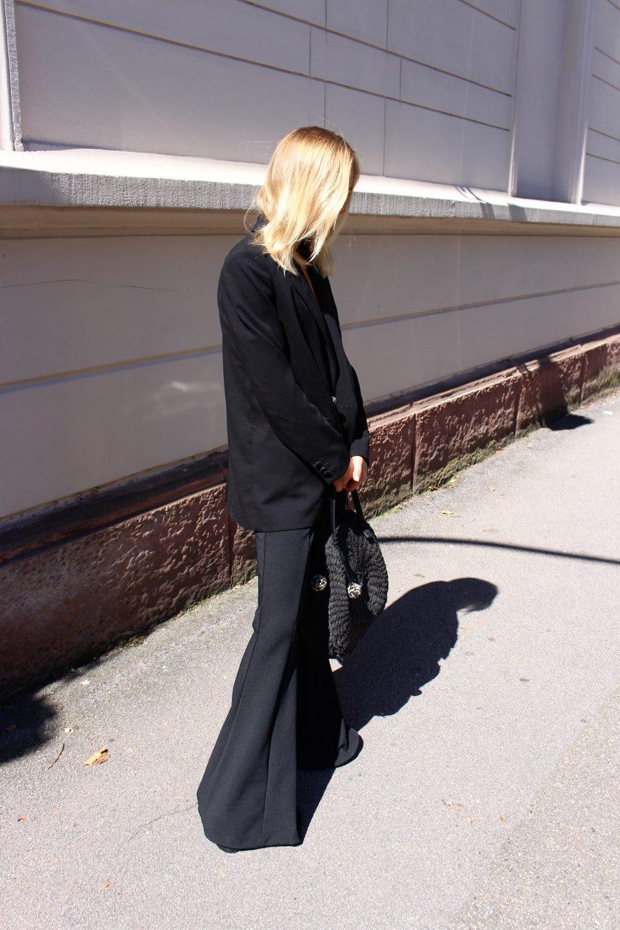 wide leg pants H&M trend