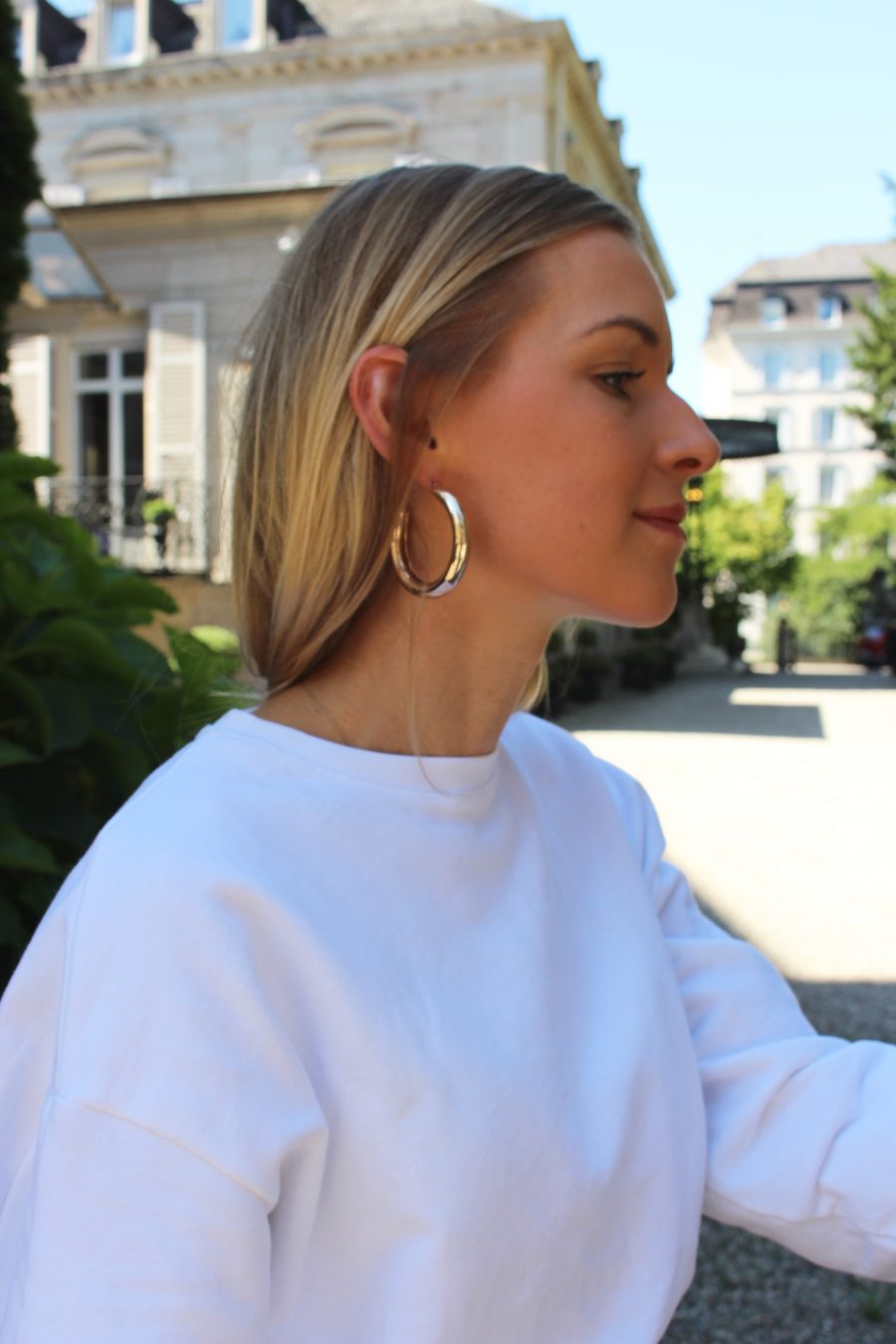 H&M earrings gold