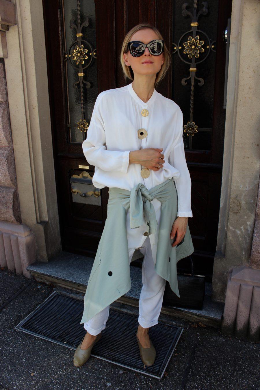 white shirt massimo dutti