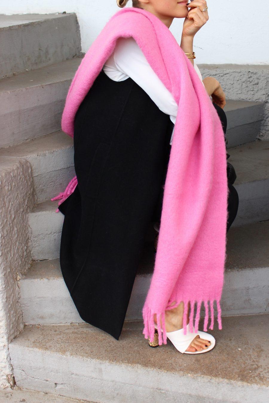 big scarf céline trend 2017