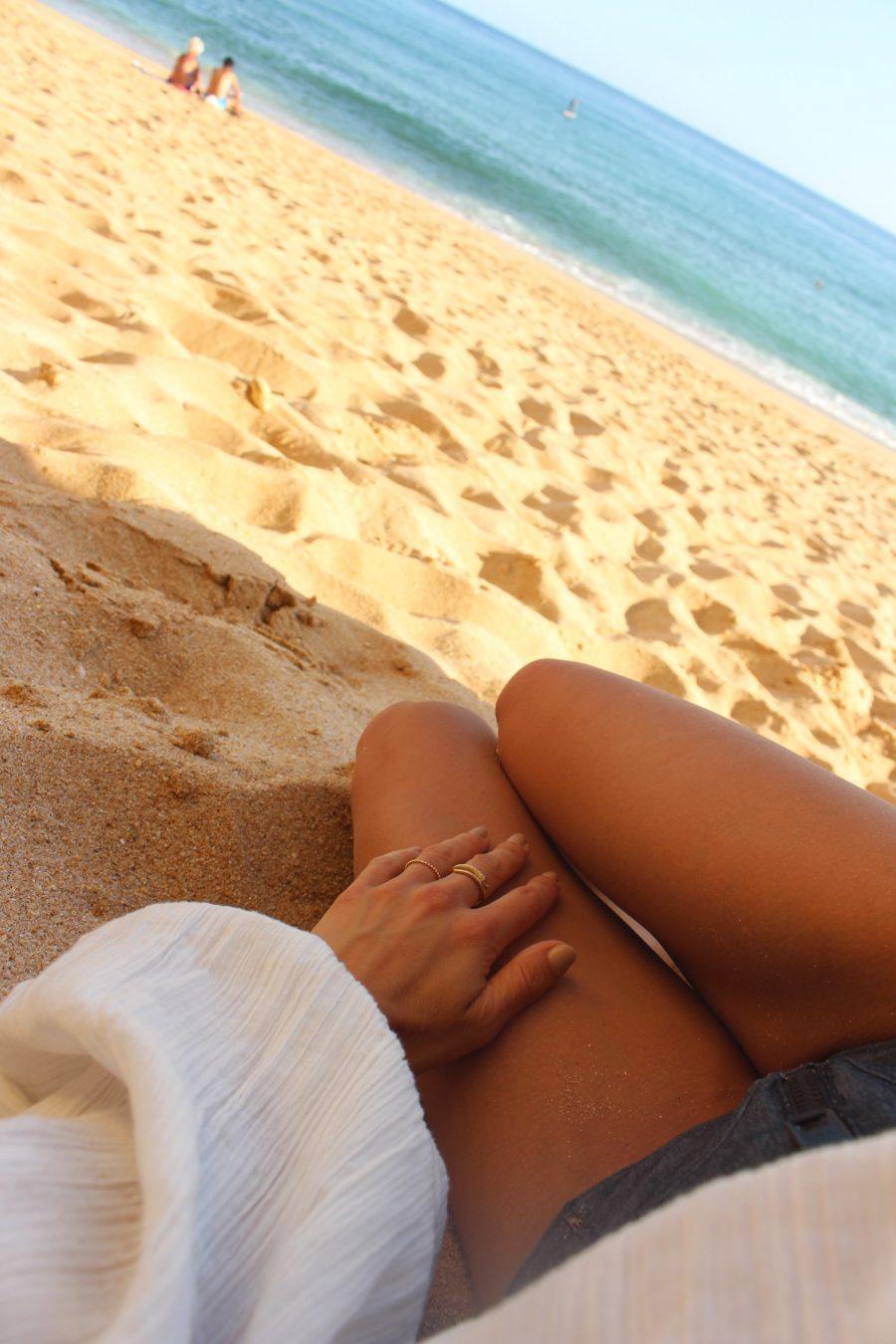 Bikini lisa marie fernandez grey highwaisted