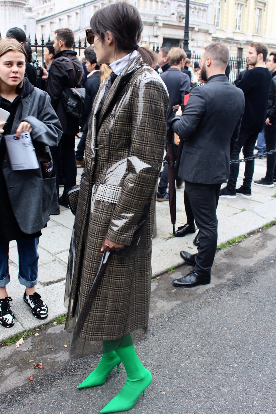 Street Style from Paris Fashion Week, Day 6