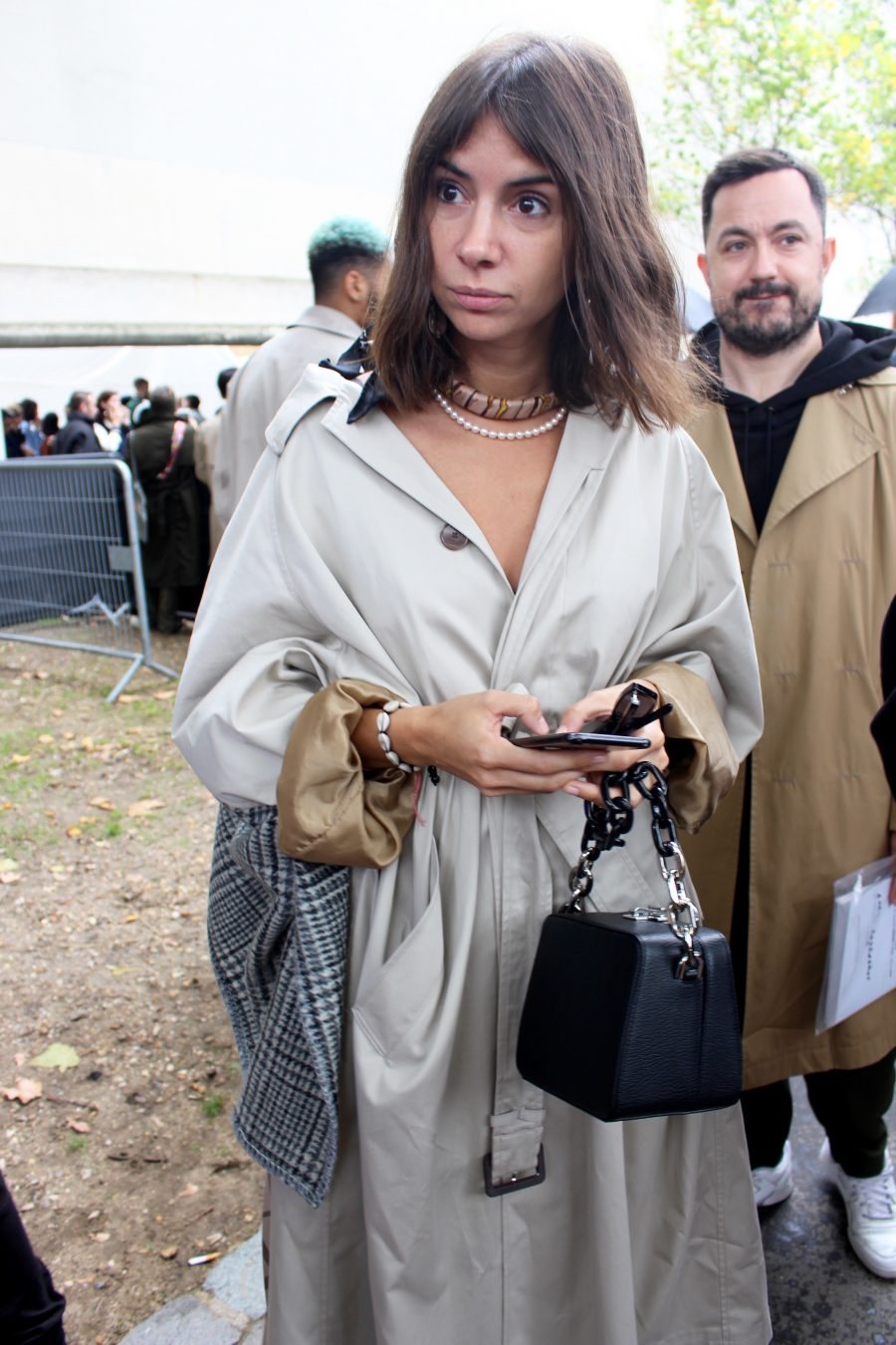 Street Style from Paris Fashion Week SS18, Day 6