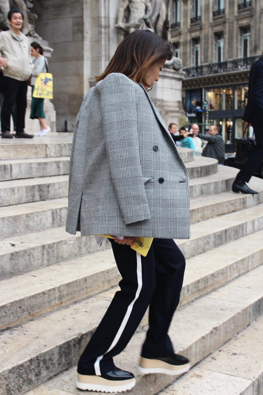 Street Style from Paris Fashion Week SS18, Day