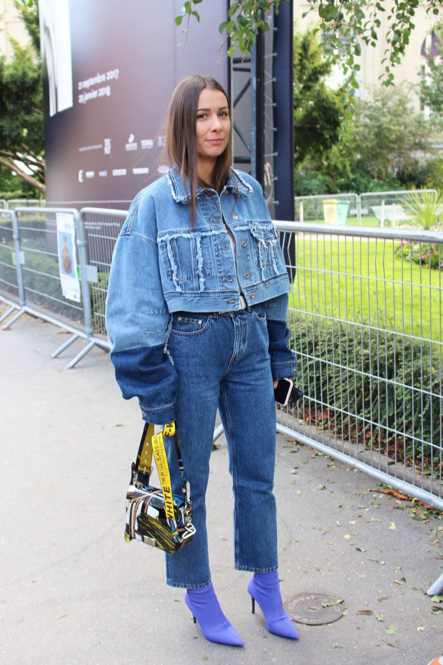 Street Style from Paris Fashion Week SS18, Day 8