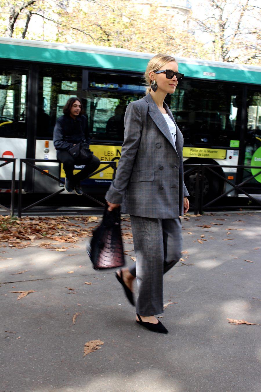Zara suit grey