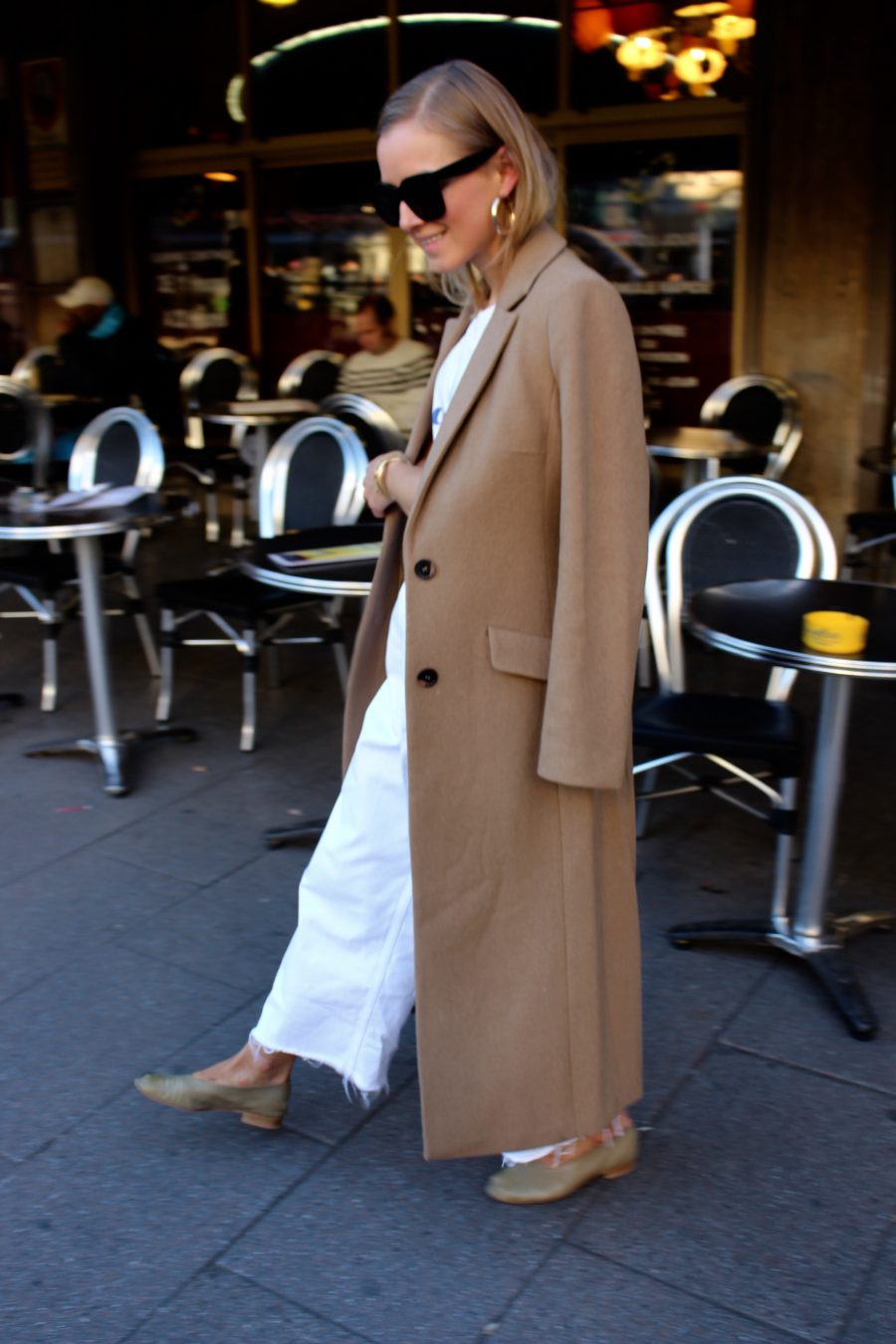 long coat fashion blogger olsen style