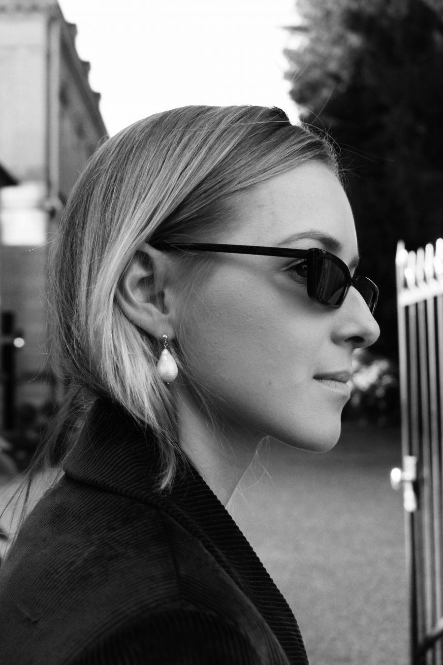 céline earrings fall winter 2017