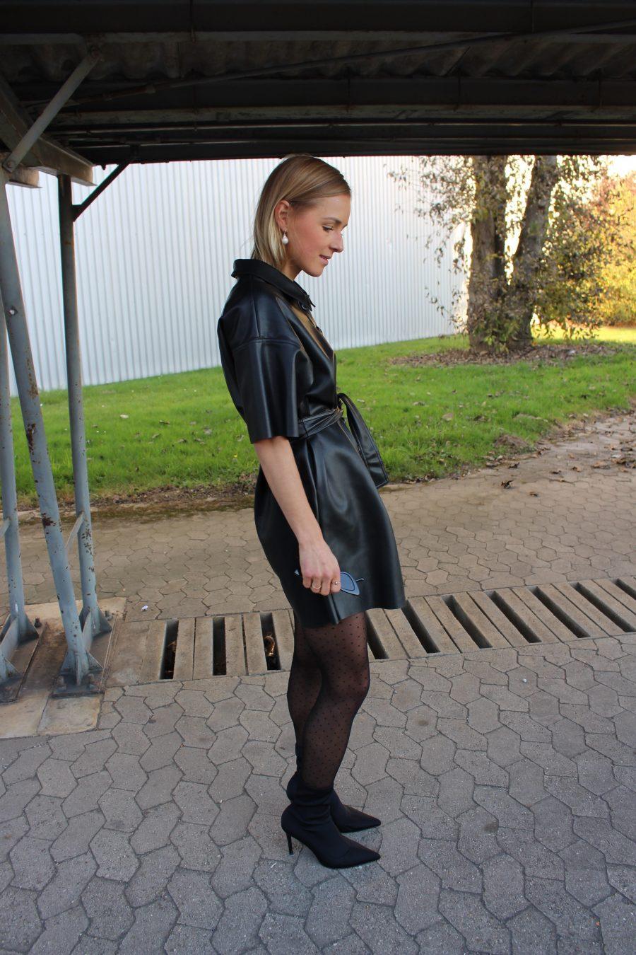 black dress zara trend 2017 Céline