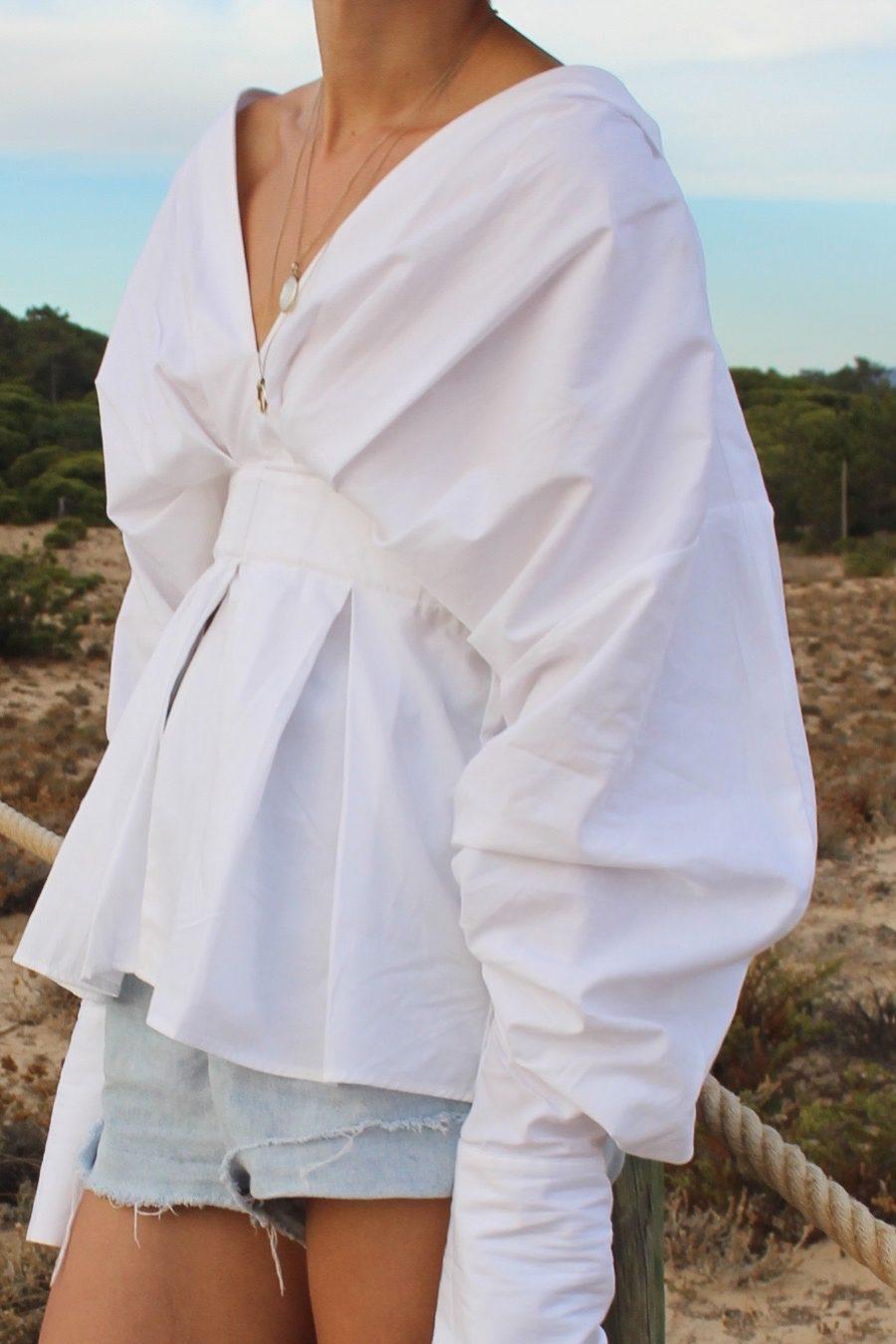 jacquemus shirt white