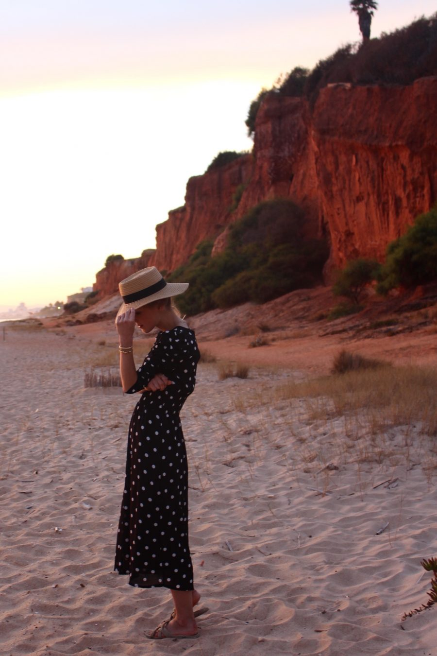 H&M Kleid polka dots