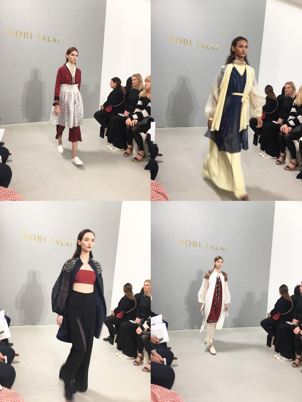 Nobi Talai SS18 Fashion Week Paris