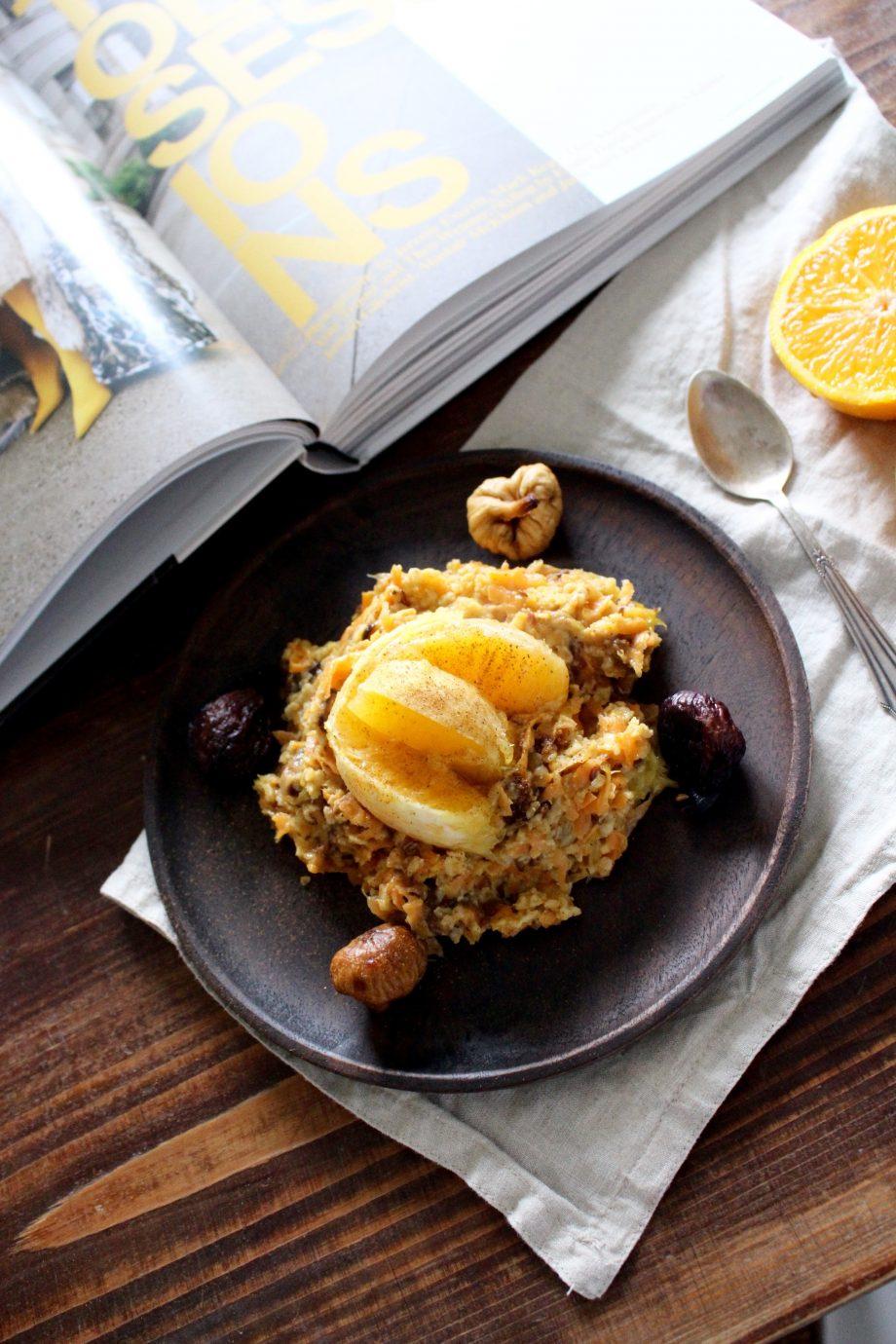 Karotten & Orangen Porridge |12.11.2017
