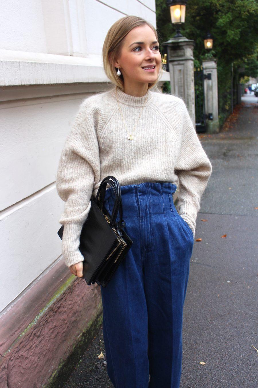 Paperbag pants H&M Trend