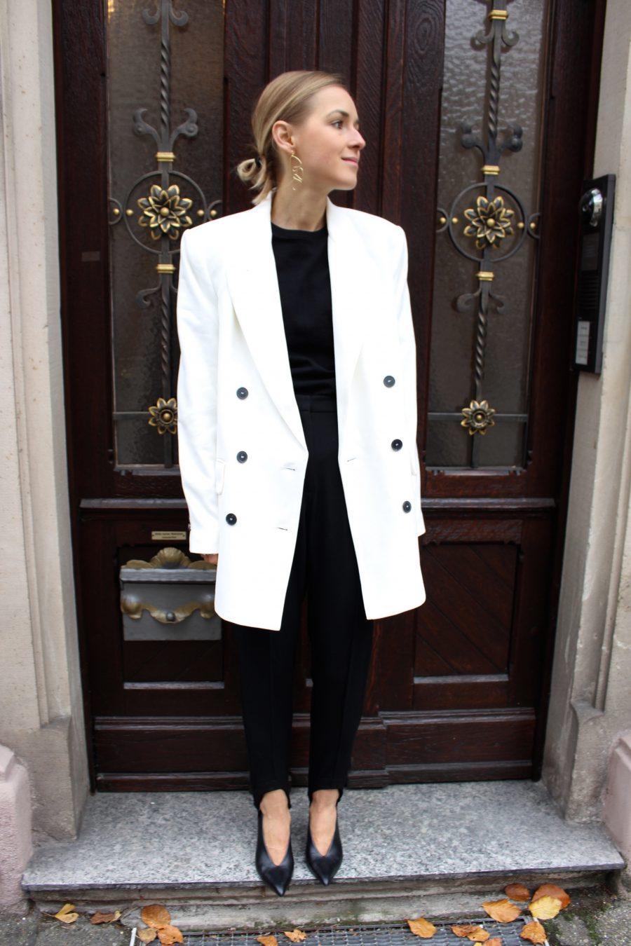 steghose schwarz H&M Balenciaga