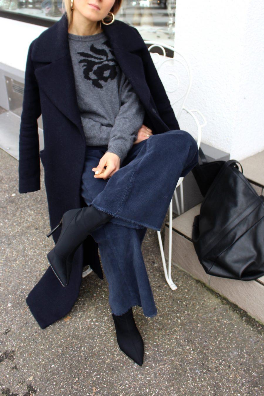 Massimo Dutti sweater 2017 grey