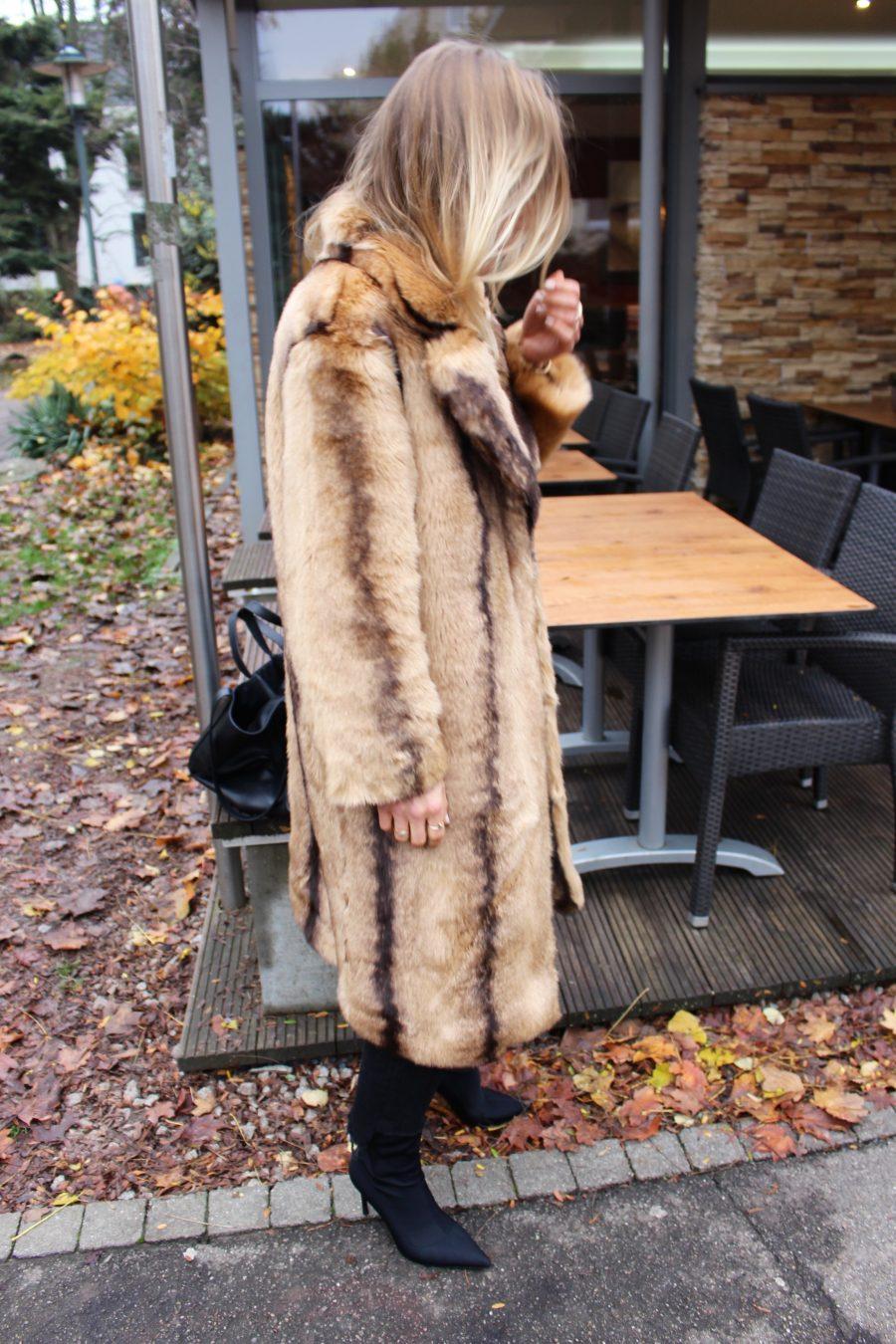 faux fur coat 2017 trend