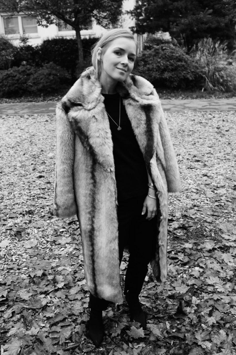 Plush Faux Fur Coat Other stories