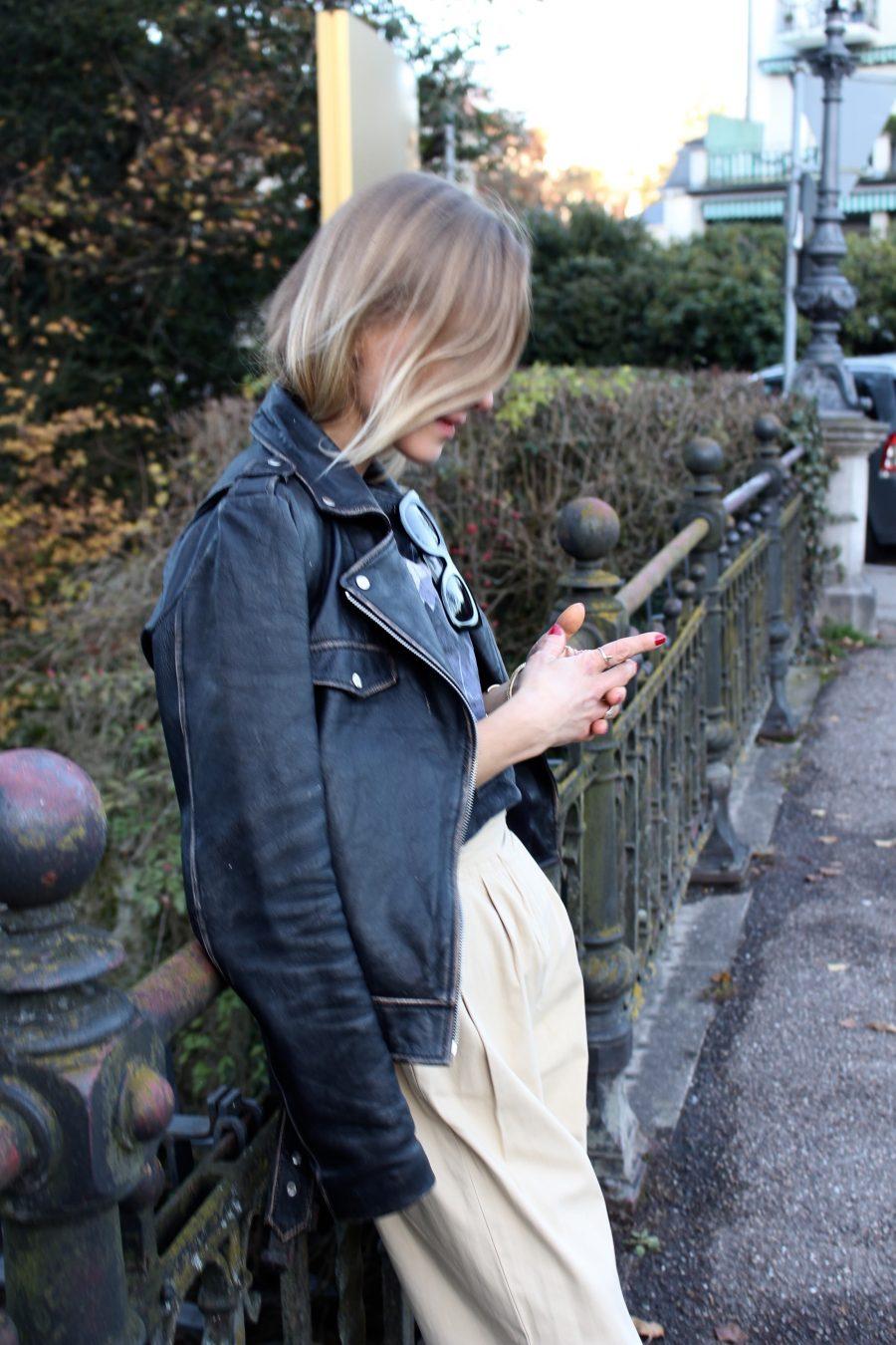 jacket leather vintage