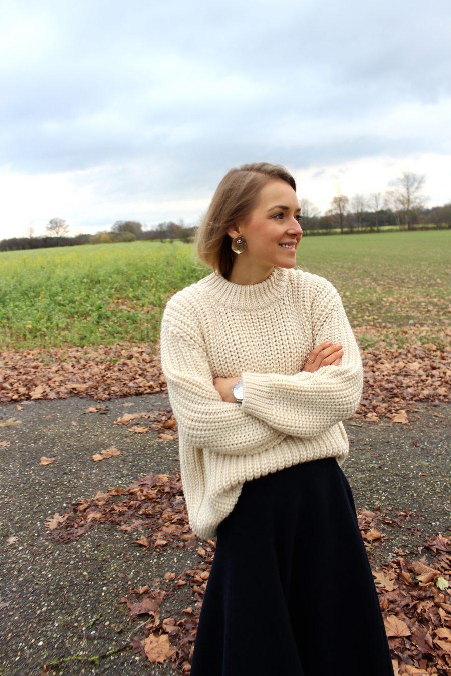 zara knitwear beige