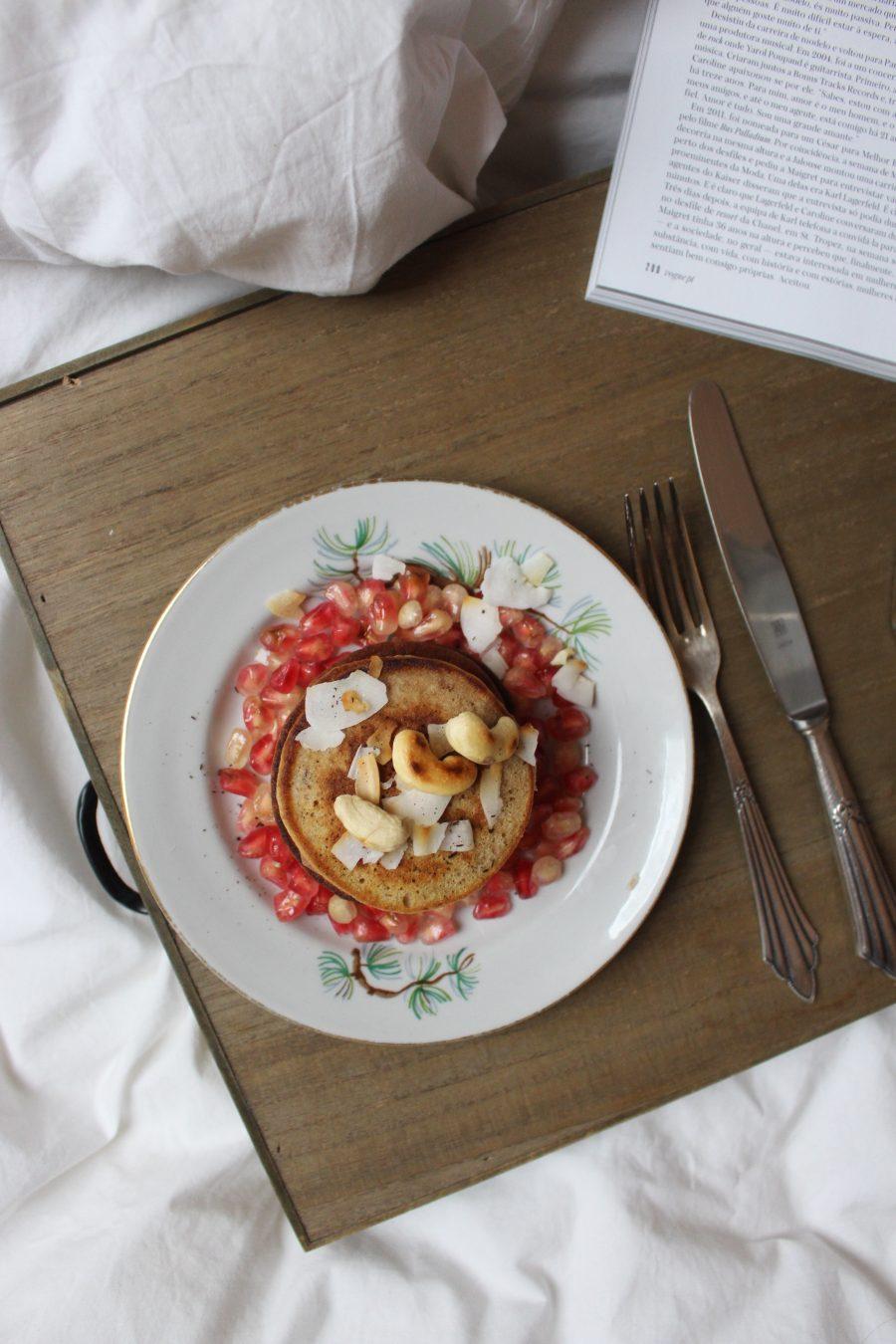 Mini Maronen Pancakes